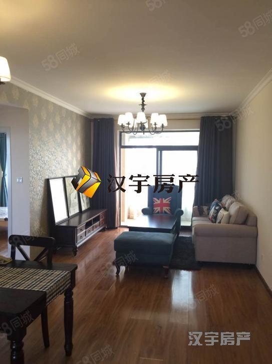 锦绣城三室两厅两卫精装全齐拎包即住看房随时真实照片急租