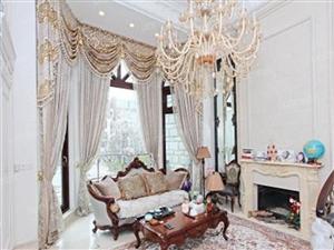 浮山前仅此一套超豪华类别墅法式豪装前后带院诚意出售