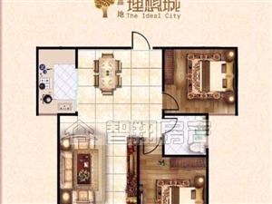 鑫地理想城.电梯中层.采光好.即卖即装修.经典2居室