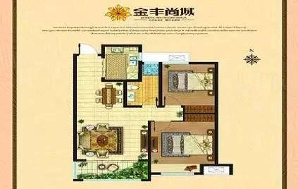 金丰家园小高层1楼带40平小院经典户型可贷款直开手续