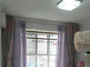 紫金华府两台空调软包床厨房净水机滚筒洗衣机可看房