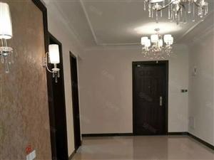 高新区恒大翡翠华庭,三室两厅双气电梯,精装钥匙在