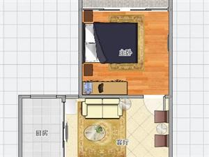 急售金盛家园46.32平有房本带装修拎包入住