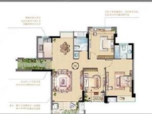东山禹州城上城,舒适高层大三房,精装修,可拎包入住!