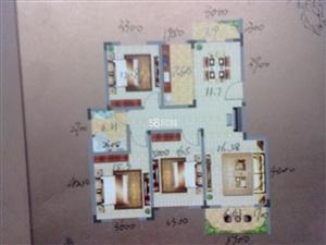 龙溪水岸3室2厅1卫