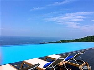 北洛秘境网红天际泳池真一线海景房