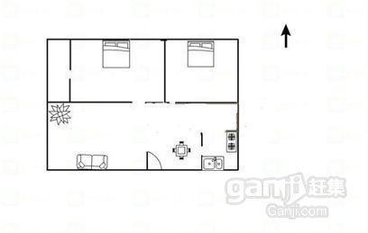 世纪熙苑2室2厅1卫