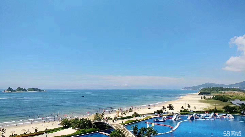 一线真海景楼下就是沙滩大海不限购包租管理