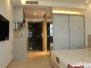 蕉城盛豪财富公寓1室1厅35平米中等装修押一付一