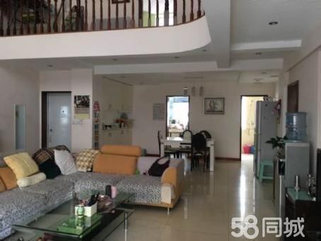城中心金粮小区,221平米4跃5的复式楼精装修带车库!
