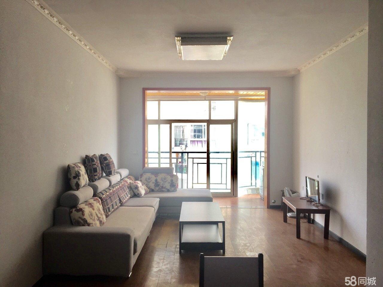 河东新区香林雅郡2室2厅90平米精装修年付