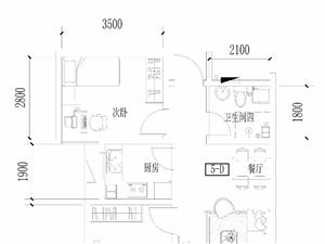 李沧李村银座广场华府2室1厅1卫79平米