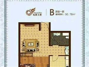 奥林匹克公园秦皇岛孔雀王1室1厅1卫52平米