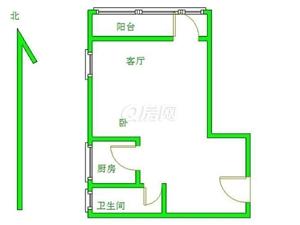 崂山颐中体育场崂山国际花园1室2厅1卫66平米