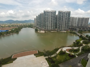 外地可买一线湖景锦绣国际花城4米9复式公寓不限贷