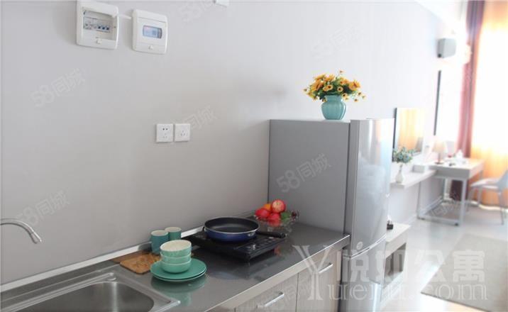 花园路关虎屯国贸360附近公寓精装修1室1厅1中介勿扰
