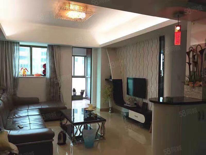 嘉信名庭12楼80平方2房1高档装修家电齐全