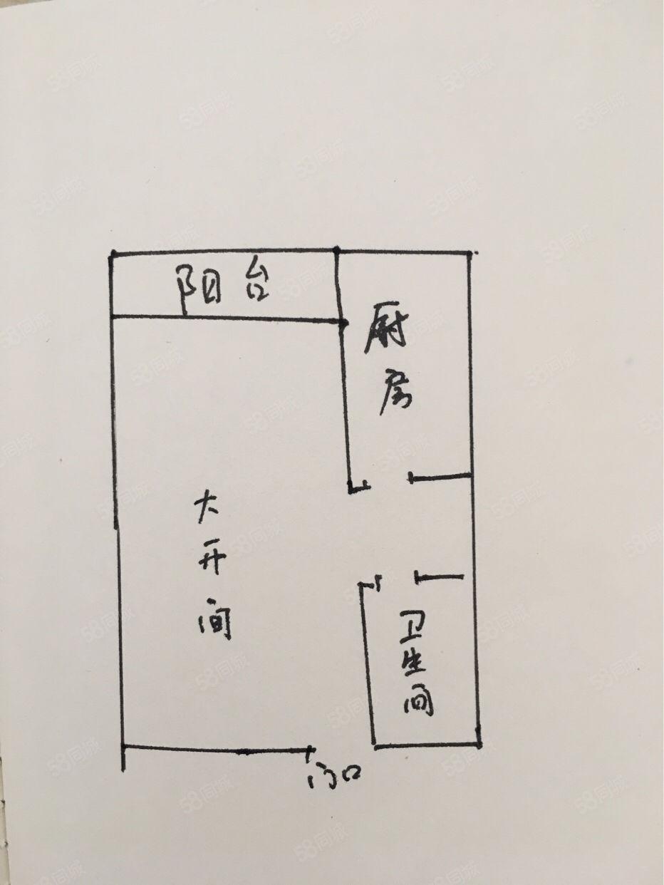 明珠广场后面,第五大道42.8平大开间