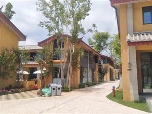 高端旅游度假精装公寓,雪山艺术小镇,33平带院子,托管5年