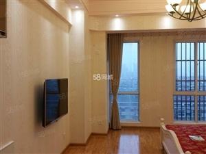 国购广场A座一室一厅,家具家电齐全,拎包即住,长期出租