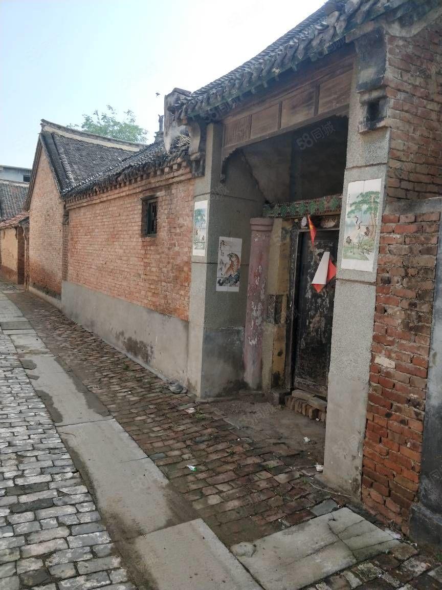 佃户屯后姚庄4分地皮带脊老房子独院出售39万