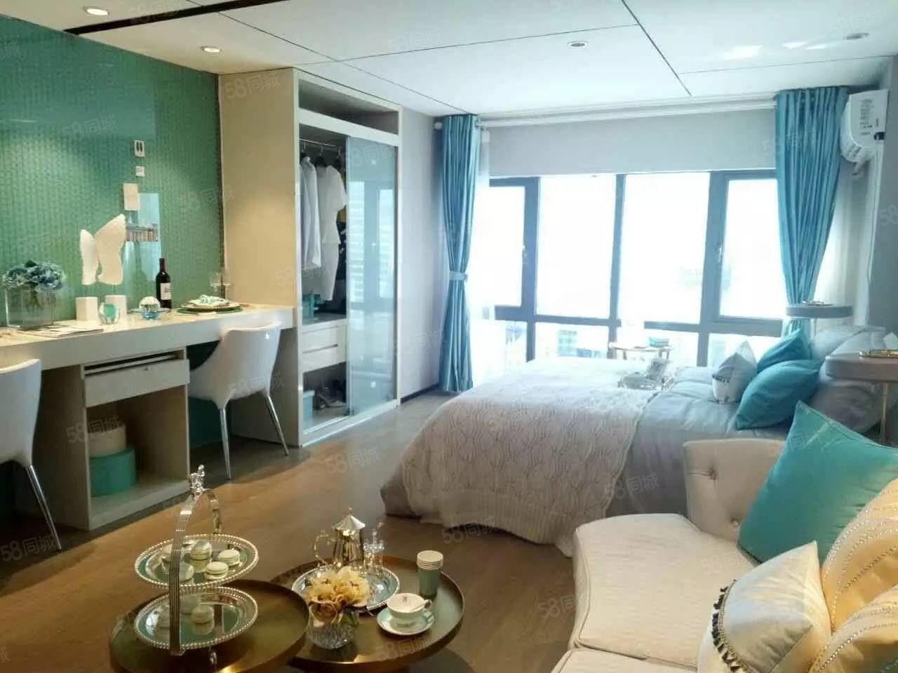 首付3万郑州港区润丰领寓月供800精装小公寓准现房可更名