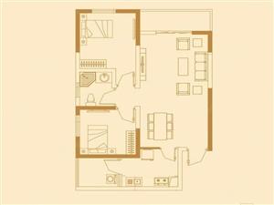 永威翡翠城,2房2厅,南北通透,婚房装修,仅需210