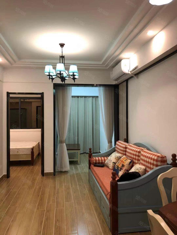 椰风海岸小区新房1室1厅生活交通方便配置齐全拎包入住