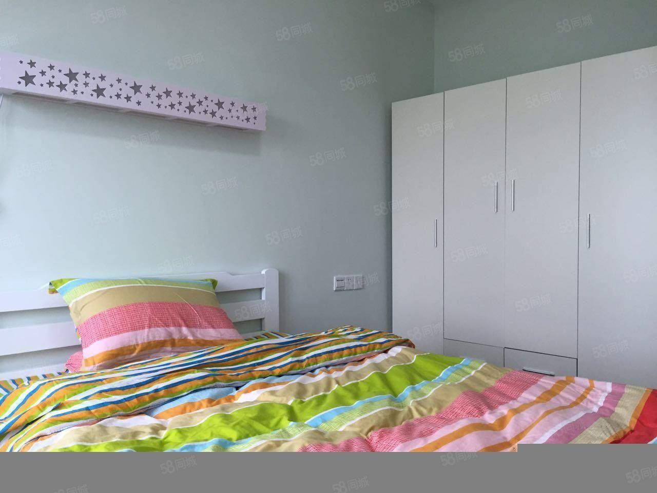 美仑广场精装修公寓1房1厅