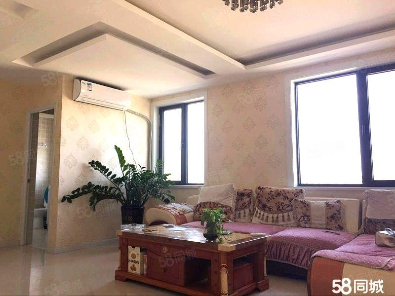 富都花园,113平精装2室,家具家电齐全,2.8万包取暖物业