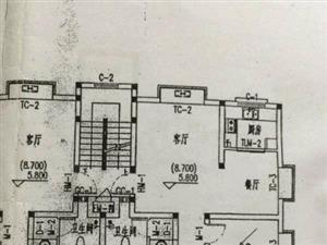 翡翠城,多层二楼,豪华装修,带全部家具家电,36平车库!!