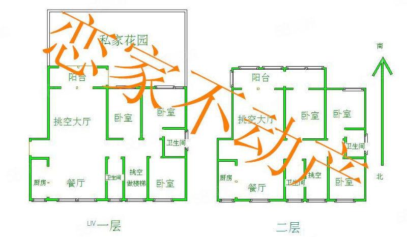 稀世1+2復式豪宅帶100平私家花園市區中心位置珍藏房源