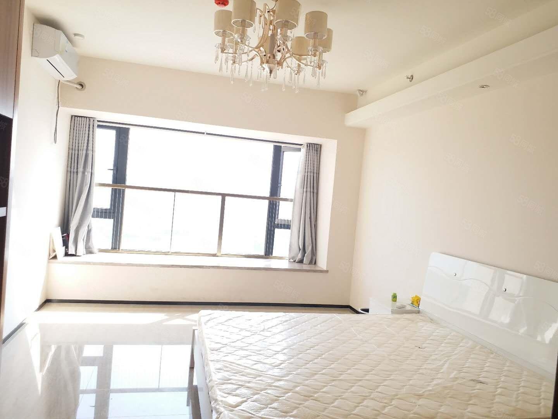 恒大名都公寓一室一厅豪华装修拎包入住商业配套齐全生活便利