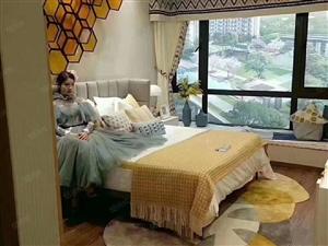 龙湾区翡丽公园108平精装4居室电梯洋房,户型优越,交通便利