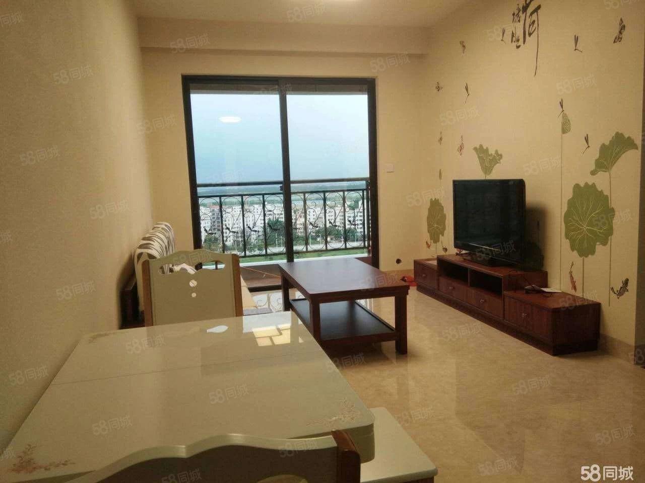 海东新区凯旋湾,精装修2房2厅,家私家电齐。拎包入住