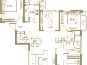 万科美景龙堂139平大三房可改四南北通透采光通风品质之选