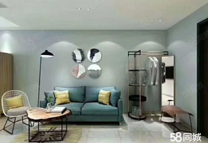 柏溪城中央精装公寓带家具家电价格优惠首付8万不收其他费