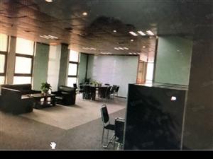 卓越西海岸精装办公室233平带电脑办公即可11万每年