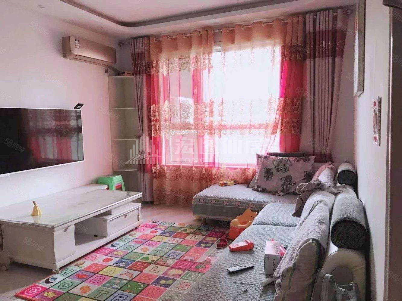 带暖气当代国际广场东星美城市广场精装三室家具家电全