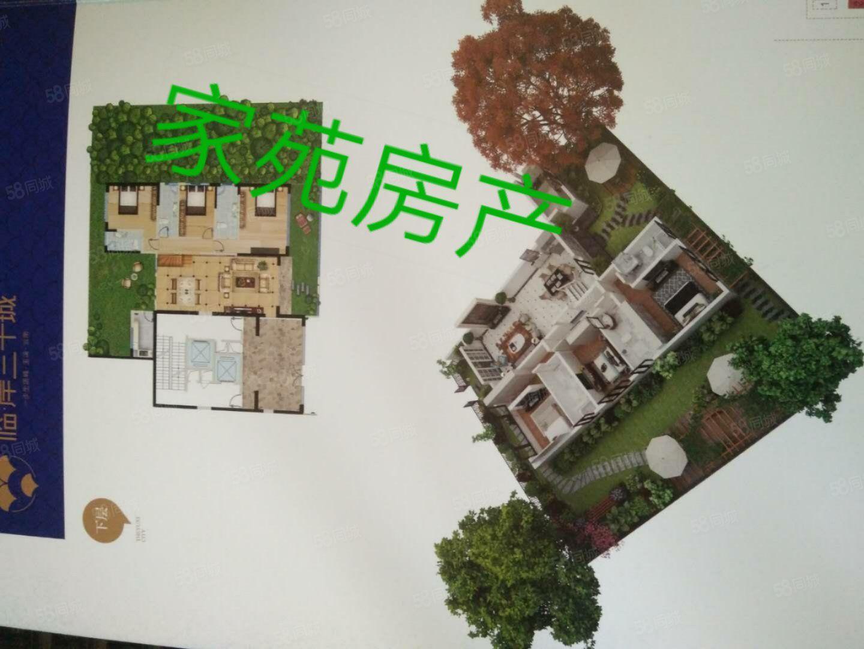 临岸三千城360平底楼复试赠送150平花园