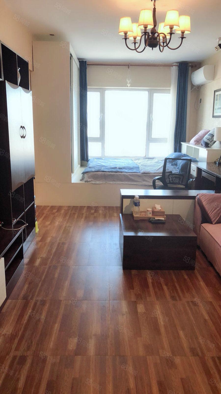 我这个是公寓精装的房屋是开间你看了肯定喜欢