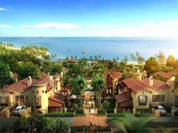 合正东部湾首付8万起住一线海景精装公寓托斯卡纳风情游艇小镇