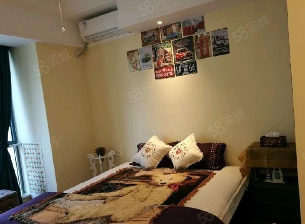 河东万达公寓一室酒店式公寓家具家电齐全真实房源