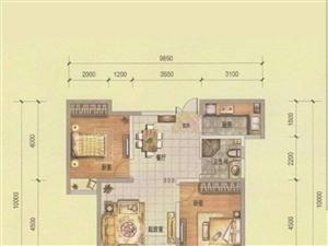 高尔夫庄园两室毛坯现房93平80万包过户走一手