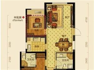 城东曼城中上层3房2卫楼层好实际报价185万舞阳学校