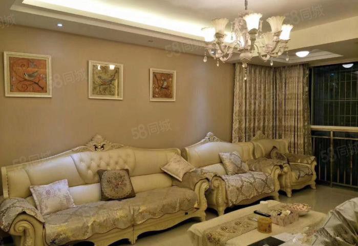 豪装婚房出售装修不到2年全进口家具带平台诚心出售