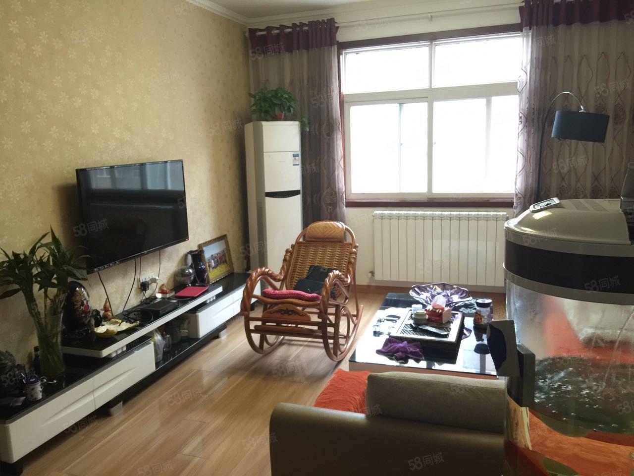 联合花园精装三房,带地暖,家具家电全送,真实图片!机会仅此一