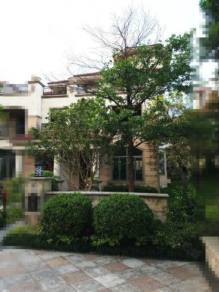 市政府旁三盛海排别墅毛坯产权220平使用面积400左右