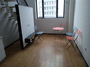 汇金卡卡公寓复式挑高出租精装5.5米挑高,可住家庭