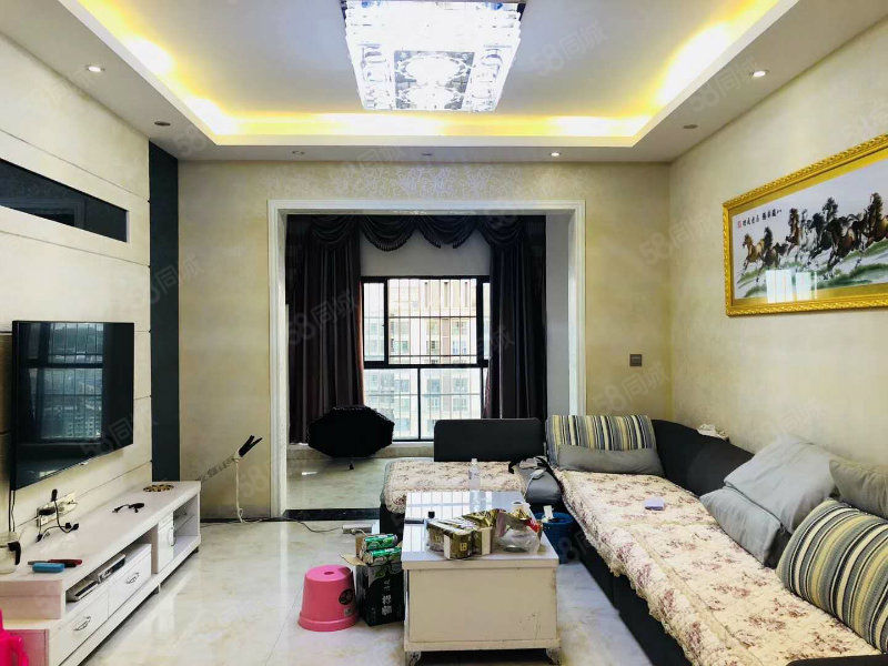 南滨帝景便宜相因的房子朝中庭,标准三房全小区只有一套